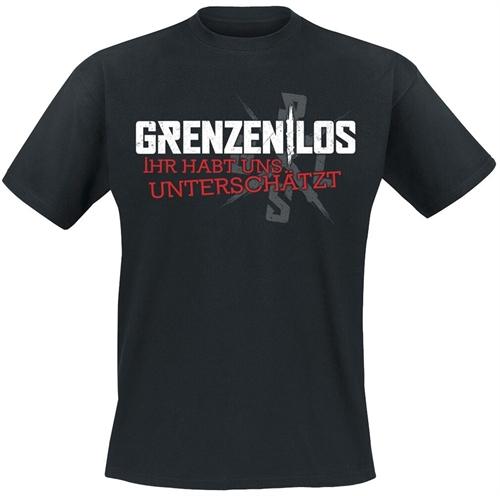 Grenzen|Los - Ihr habt uns unterschätzt, T-Shirt