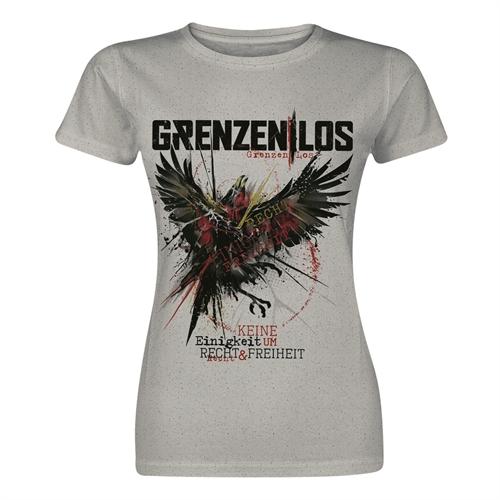 Grenzen|Los - KEURUF, Girl-Shirt
