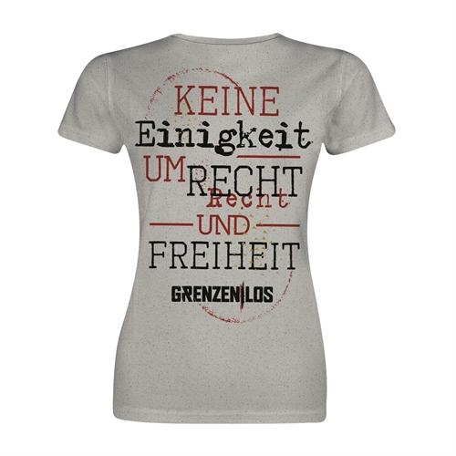 Grenzen Los - KEURUF, Girl-Shirt