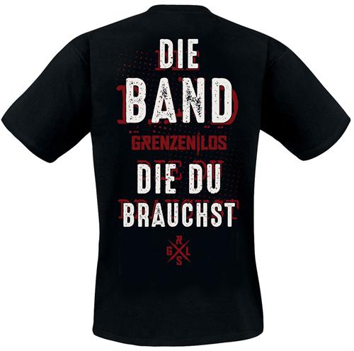 Grenzen Los - Die Band die du brauchst, T-Shirt