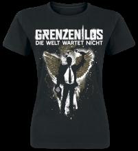 Grenzen Los - Die Welt wartet nicht, Girl-Shirt